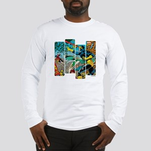 Cyclops Comic Panel Long Sleeve T-Shirt
