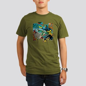 Cyclops Comic Panel Organic Men's T-Shirt (dark)