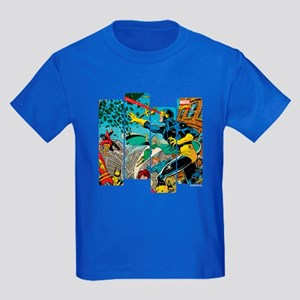 Cyclops Comic Panel Kids Dark T-Shirt