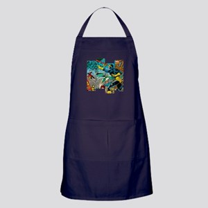 Cyclops Comic Panel Apron (dark)