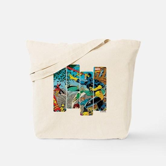 Cyclops Comic Panel Tote Bag