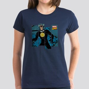 Havok Comic Panel Women's Dark T-Shirt