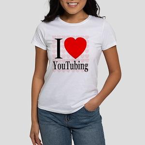 I Love YouTubing Women's T-Shirt
