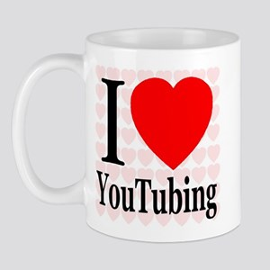 I Love YouTubing Mug