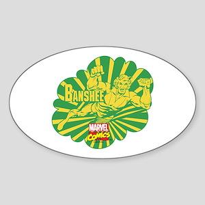 Sonic Scream Banshee Sticker (Oval)