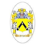 Felipe Sticker (Oval 10 pk)