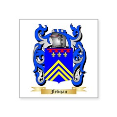 Felicjan Square Sticker 3