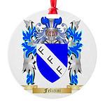 Felicini Round Ornament