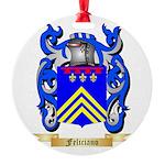 Feliciano Round Ornament