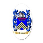 Feliciano Oval Car Magnet