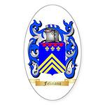 Feliciano Sticker (Oval 10 pk)