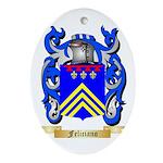 Feliciano Ornament (Oval)