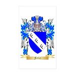 Felici Sticker (Rectangle 50 pk)