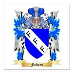 Felices Square Car Magnet 3