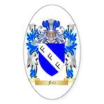 Feli Sticker (Oval 50 pk)