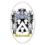 Feldmus Sticker (Oval 50 pk)