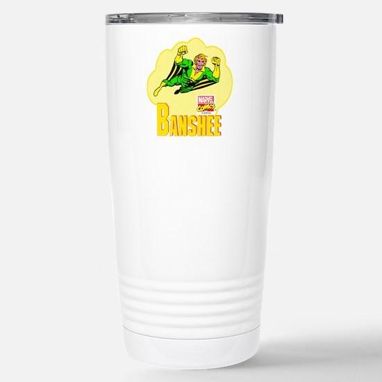 Banshee X-men Stainless Steel Travel Mug