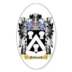 Feldmark Sticker (Oval 50 pk)