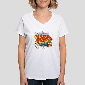 Classic X-Men Women's V-Neck T-Shirt