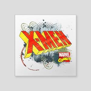 "Classic X-Men Square Sticker 3"" x 3"""