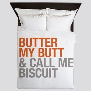 Butter My Butt and Call Me Biscuit Queen Duvet