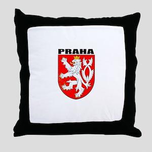Praha, Czech Republic Throw Pillow