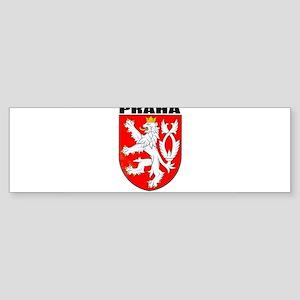 Praha, Czech Republic Bumper Sticker