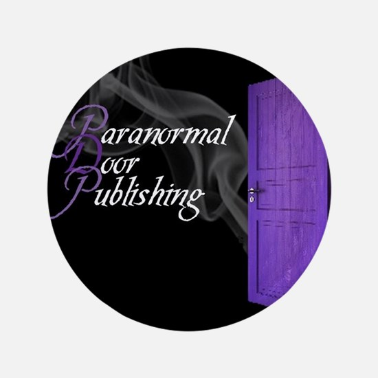 Paranormal Door Larger Logo 3.5&Quot; Button
