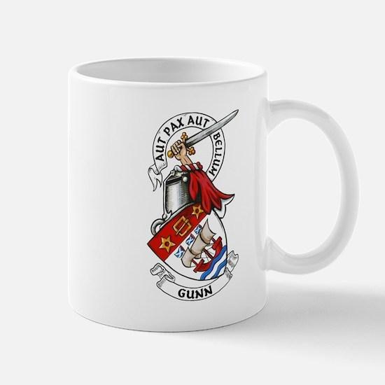 Gunn Arms and Crest Mugs