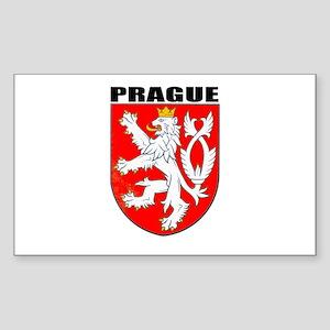 Prague, Czech Republic Rectangle Sticker