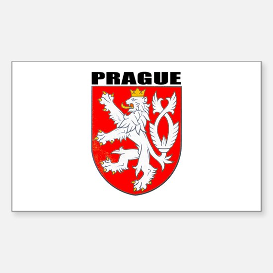 Prague, Czech Republic Rectangle Decal