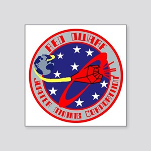 "Jupiter Mining Corporation Square Sticker 3"" x 3"""