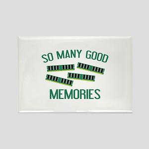 So Many Good Memories Rectangle Magnet
