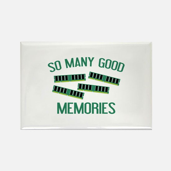 So Many Good Memories Rectangle Magnet