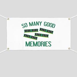 So Many Good Memories Banner