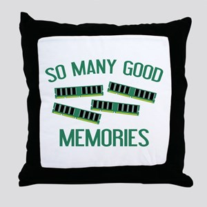 So Many Good Memories Throw Pillow