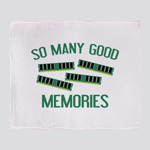 So Many Good Memories Stadium Blanket
