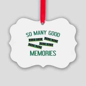 So Many Good Memories Picture Ornament