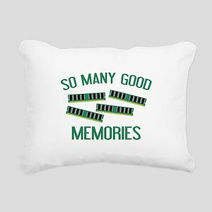 So Many Good Memories Rectangular Canvas Pillow