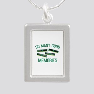 So Many Good Memories Silver Portrait Necklace