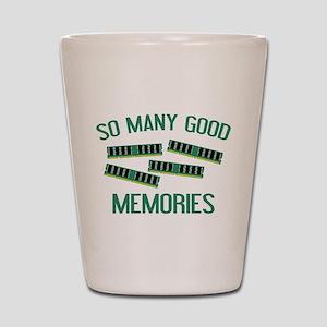 So Many Good Memories Shot Glass