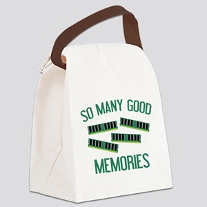 So Many Good Memories Canvas Lunch Bag