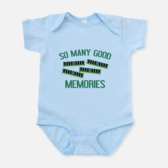 So Many Good Memories Infant Bodysuit