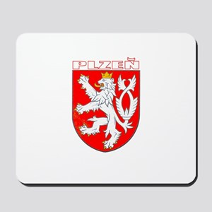 Plzen, Czech Republic Mousepad