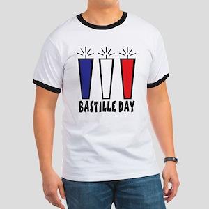 Bastille Day Ringer T