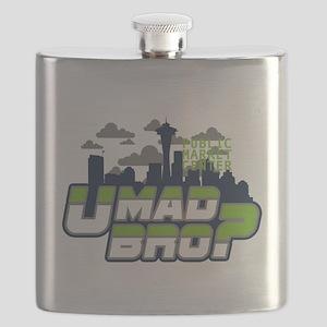 U Mad Bro Flask