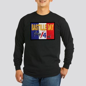 Bastille Day Long Sleeve Dark T-Shirt