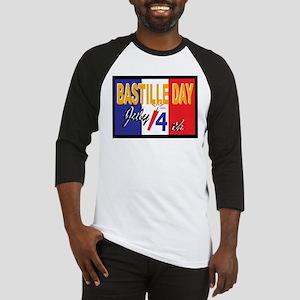 Bastille Day Baseball Jersey