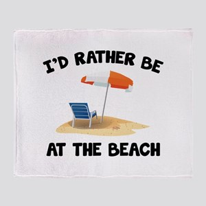 I'd Rather Be At The Beach Stadium Blanket