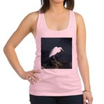 Great Egret Racerback Tank Top